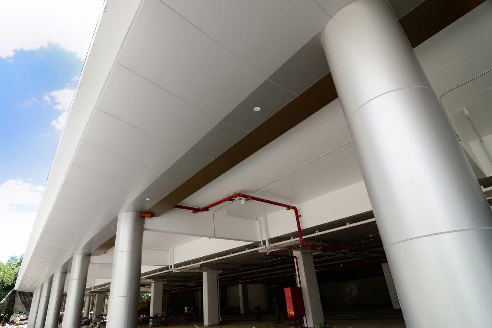 Aluminium Column Cladding Superior Insulated Panels