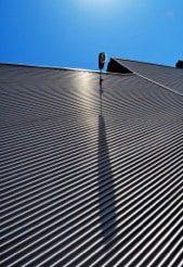 building with Aluminium Louvres