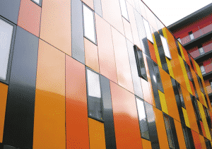 Multicoloured Insulated Panels
