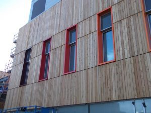 pic of  traditional wood cladding.