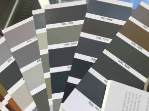 RAL 7023 is now becoming a very popular shade of grey amongst architects and homeowners